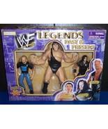 1998 Jakk's Pacific Legends Past & Present 3 pk Action Figure Set WWF WW... - $54.03