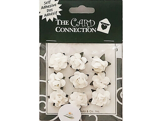 The Card Connection Small White Roses #TCP0128-12
