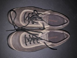 MERRELL Cypress Women's Brown Chocolate Lace Up Oxford Shoes Size 7 - $19.79