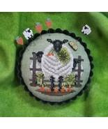 Carrots for Ewe sheep cross stitch chart Blackberry Lane Designs   - $10.80