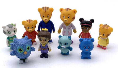 Daniel Tiger's Neighborhood Friends & Family Figure Set Of 10 Daniel Friends - $15.84