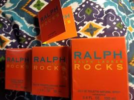 Ralph Lauren ROCKS .03 oz 1 oz 1.7 oz 3.4 oz EDT Eau De Toilette NEW IN BOX - $12.09+