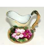 Stunning Hand Painted (Made in Japan) Creamer Pitcher Roses and Gold - $5.99
