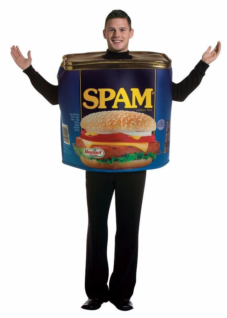 Spam Costume Adult Food Halloween Party Unique Cheap GC7141