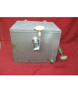 Vintage Old Georgetown Beer Keg Tap Cooler Dispenser - $247.49