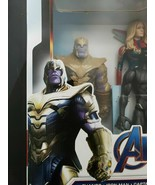 """Marvel Avengers Titan Heroes Collection 8 Pack 12"""" Inch Huge box dmg end game - $141.12"""