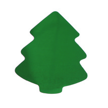 Christmas Tree Cutouts Plastic Shapes Confetti Die Cut FREE SHIPPING - £5.55 GBP