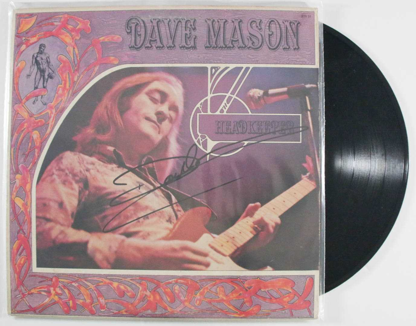 "Primary image for Dave Mason Signed Autographed ""Head Keeper"" Record Album"