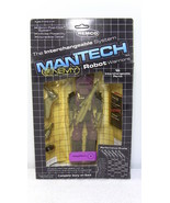Mantech Robot Warriors NegaTech 1983 - Remco Toys Factory Sealed Card - $96.74
