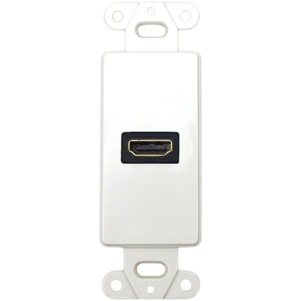 Primary image for DataComm Electronics 20-4501-WH Decor Wall Plate Insert with 90deg HDMI Connecto