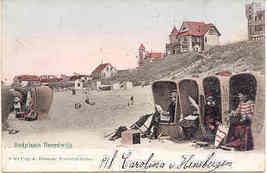 Noordwijk Badplaats 1906 vintage Post Card - $6.00