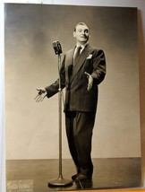 "Frankie Lane Signed Song man 8 X 10"" C1950's Ph... - $9.89"
