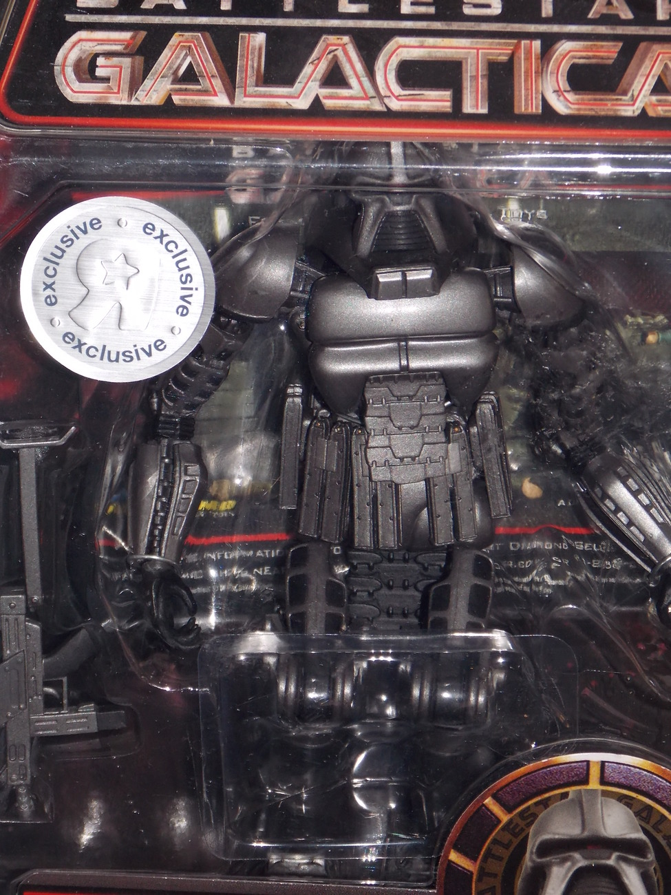 Battlestar Galactica Stealth Warrior Cylon Figure New In The Package