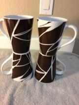 (4)  HOME  DUSK  COFFEE MUGS / CUPS--INDONESIA---FREE SHIP--VGC - $26.88