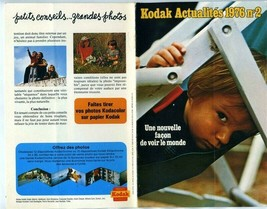 Kodak News Catalog 1976 A New Way of Seeing the World Camera Film in French - $27.76
