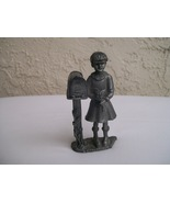 Michael Ricker Bartlett Collector's Society  Pewter Figure Girl 1984 - $19.95