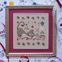 Cat's Workroom Cat Collection cross stitch chart Filigram - $7.20