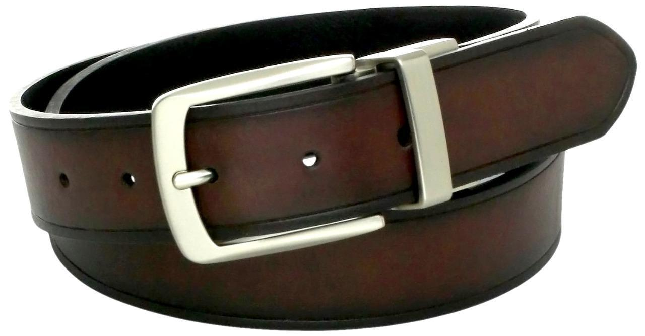 NEW LEVI'S MEN'S CLASSIC REVERSIBLE GENUINE LEATHER BELT BROWN BLACK 11LV02PR