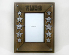 Wanted Western Picture Frame - $18.99