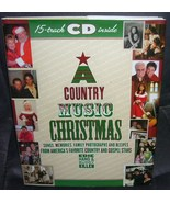 A COUNTRY MUSIC CHRISTMAS Book w/15 Track CD NEW! HC DJ * FI - $10.96