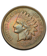1907 Indian Head Penny / Cent Coin Lot# A 1468 - €22,03 EUR