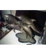 HUGE BRONZE / BRASS DOLPHINS~~~never seen before - $995.00