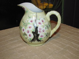 Vintage Hand painted Iridescent Lusterware Pioneer MDSE Creamer Pitcher ... - $18.00