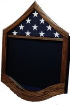 Air Force Master Serg EAN T Msgt Military Award Wood Shadow Box Medal Display Case - $270.74