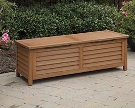 Home Styles 5661-25 Montego Bay Deck Box Eucalyptus Finish - $381.48 CAD