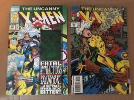 UNCANNY X-MEN #304 & 305 Marvel Comic Book Lot 1993 NM Condition - $7.19