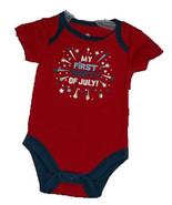 """Newborn Baby's """"My First Fourth of July"""" Onesie - $8.00"""