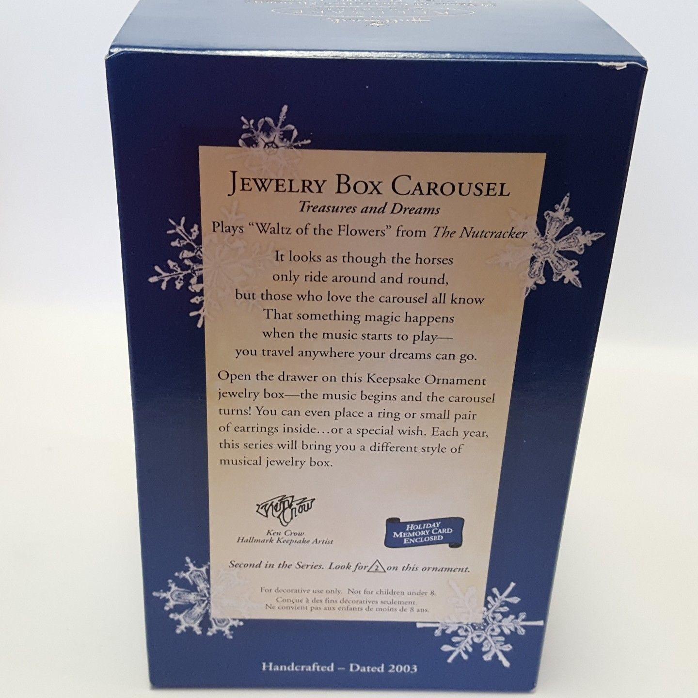 2003 Hallmark Jewelry Box Carousel Ornament and 50 similar items