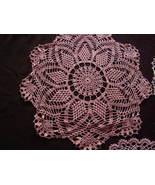 Vintage - Crochet Doillies - $25.00