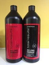 Matrix so Long Damage Shampoo and Conditioner Duo, 33.8oz Each - $39.59