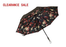 LVBOHE Double Layer Compact Umbrella for Rain and UV Protection with Cry... - $14.69