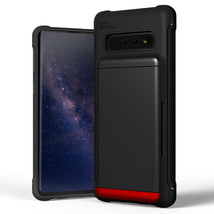 For Samsung Galaxy S10 Case VRS®[Damda Shield] Slim Card Wallet Shockpro... - $19.99