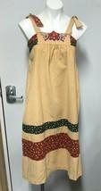 Vintage 70s JCPenney Fashions Corduroy Dress Festival Prairie Boho 13/14... - $79.19