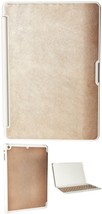 Zagg Folio Case, Hinged With Bluetooth Keyboard For Ipad Air - Rose Gold - $29.04