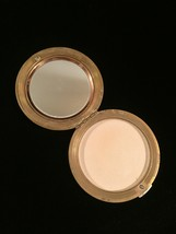 Vintage 1940s Tan Leather Horse Portrait Makeup Compact with Mirror image 4