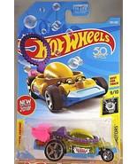 2018 Hot Wheels #293 EXPERIMOTORS 9/10 BUBBLE MATIC Transparent Yellow w... - $7.00