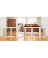 144-inch Extra Wide 30-inches Tall Dog gate with Door Walk Through, Free... - $291.35