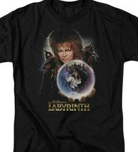 Labyrinth Jim Henson's Fantasy Cult film Retro 80's adult graphic t-shirt LAB102 image 3