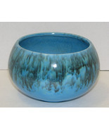 Vintage Jenkins Ceramics J-41 Blue Drip Bowl Planter California Pottery - $16.99