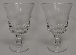 Fostoria Elegant Glass Century 10 oz Water Goblet Vintage Vintage Drinking  - $15.95