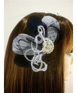 Bridesmaid Hair Accessories Set of 6, Bridal Fascinator, Feather Fascina... - $234.00