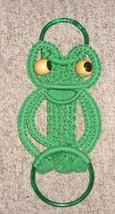 Vintage Macrame Frog Wall Decor (Towel Hanger) - $12.70