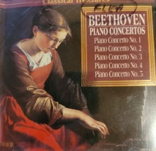 Beethoven Piano Concertos by Classical Treasures Cd image 1