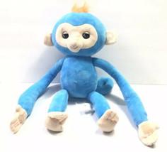 """2018 WowWee Fingerlings Blue Boris HUGS Interactive Plush Monkey 16"""" - $27.01"""