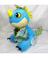 Build A Bear BAB Dreamworks Dragons Stormfly Stuffed Plush Toy Blue 13 inch - $17.81