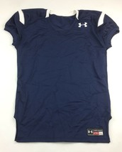 New Under Armour Performance Football Jersey Youth XL Navy White UFJ140Y - $19.30